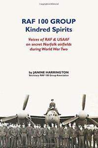 RAF-100-Group-Kindred-Spirits-by-Janine-Harrington-NEW-Book-Paperback-FREE