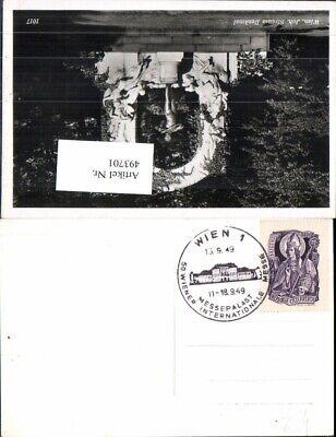 Schlussverkauf 493701,stempel Wien 1 Messepalast 50 Wiener Internationale Messe 1949 Fest In Der Struktur