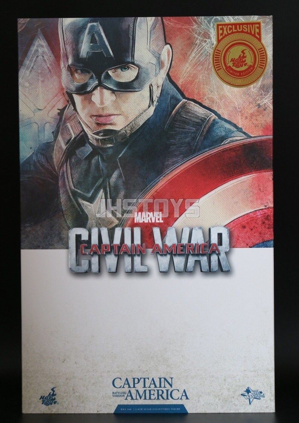 heta leksaker 1  6 Captain America Civil War Battling Version Movie Promo MMS360