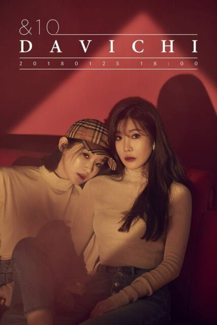 DAVICHI [&10] 3rd Album CD+Photobook K-POP SEALED