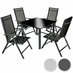 Aluminium-4-1-salon-de-jardin-ensemble-sieges-meubles-chaise-table-en-verre
