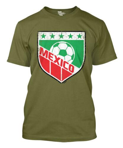 World Cup futbol football Olympics Mens T-Shirt Mexico Soccer Badge