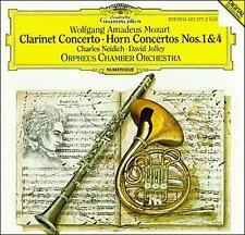 NEW - Mozart: Clarinet Concerto; Horn Concertos Nos. 1 & 4