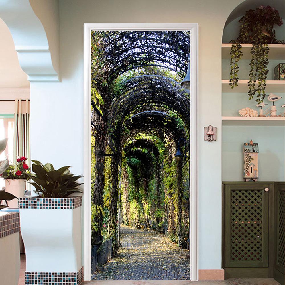 3D Bogen 88 Tür Wandmalerei Wandaufkleber Aufkleber AJ WALLPAPER DE Kyra  | Abgabepreis  | Der Schatz des Kindes, unser Glück  | Tadellos