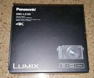 Panasonic-Lumix-DMC-LX100-Digital-Camera-4K-Black-Fast-Shipping