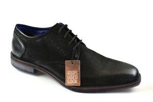 Details zu Bugatti Herren Business Schuhe Schwarz Gr.42