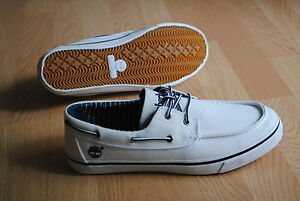 Timberland-Newmarket-FTB-41-42-2eye-TOILE-CHAUSSURES-BATEAU-OXFORD-6538r