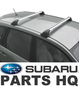Image Is Loading 2014 2018 Subaru Forester OEM Fixed CrossbarS Roof