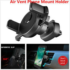 Car Air Vent Phone Mount Holder Rotation Holder Design for iPhone 7 Plus/Android