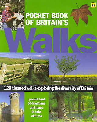 """""""AS NEW"""" , Pocket Book of Britain's Walks (AA Illustrated Reference) Book"""