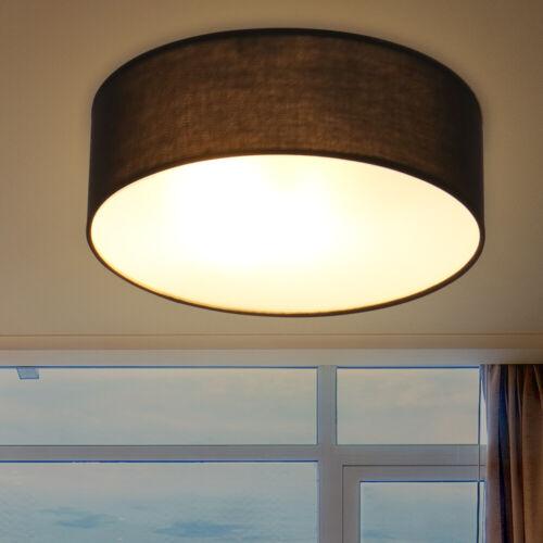 Deckenleuchte Deckenlampe Stoff Textilschirm Design Leuchte Lampe Modern 30cm DE