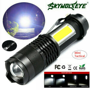 8000lm-Tactical-Military-Mini-COB-Q5-LED-Zoomable-4Mode-Flashlight-Torch-Lamp