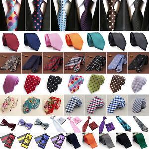 Uomo-Cravatta-a-farfalla-classico-di-raso-Nozze-Festa-Pre-Legato-raso-Papillon