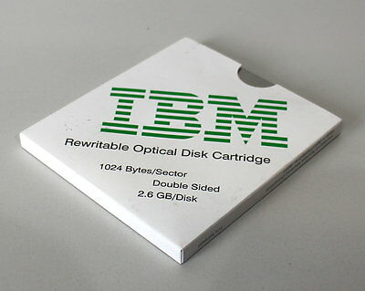 03-59-02841 Optical Disc Cartridge 2,6gb 1024 Byte Per Sector Ibm 99f8495 Rw-