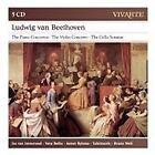 Ludwig van Beethoven - : The Piano Concertos; The Violin Concerto; The Cello Sonatas (2016)