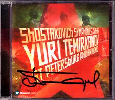 Yuri TEMIRKANOV Signed SHOSTAKOVICH Symphony No.5 6 Schostakowitsch Sinfonien CD