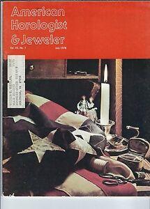 MF-093 - American Horologist & Jeweler Magazine, May 1978, Calcentine
