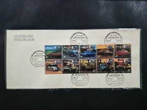 1995-Booklet-First-Day-Cover-Malaysia-Proton-Cars-1985-1995-10th-Anniversary