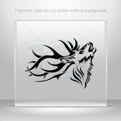 Stickers Sticker Deer Cars Motorbike Door polymeric vinyl Garage st5 W9299