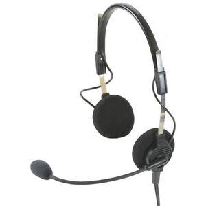 TELEX HEADSET/AIRMAN 750, 150 OHMS, Flex boom, 3 year ...