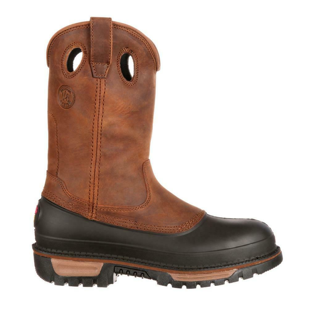 GEORGIA   Muddog Steel Toe Waterproof Wellington Work Stiefel Stiefel Stiefel G5594   NIB 9a74fc