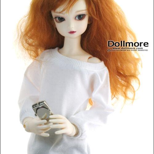 Raglan Boxy Tshirts Dollmore 1//4 bjd scale top MSD White