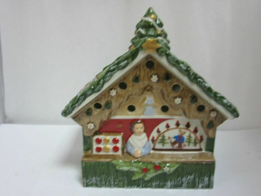 V&B - Winter Bakery - Teelichthalter Weihnachtshaus - neuw.   NWH95
