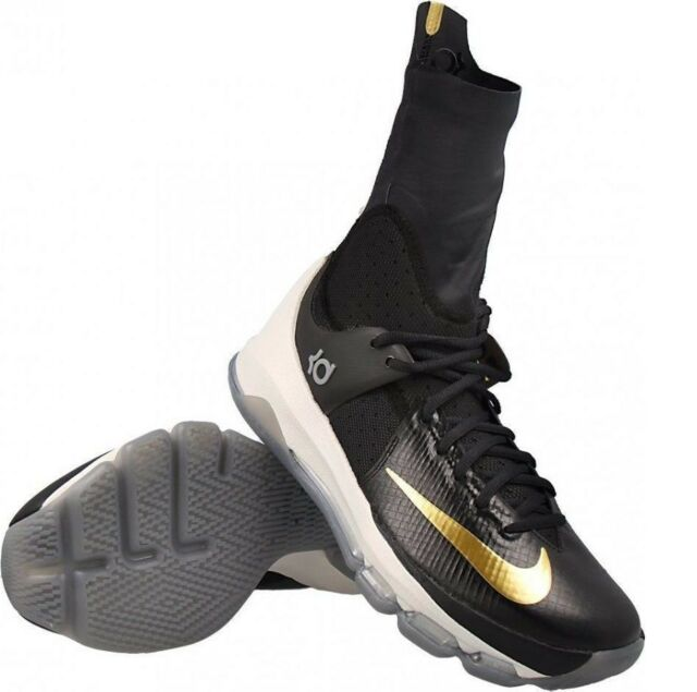 45e7cb2622bd Nike KD 8 VIII Elite Basketball Shoes Mens Size 18 Black 834185-071 ...