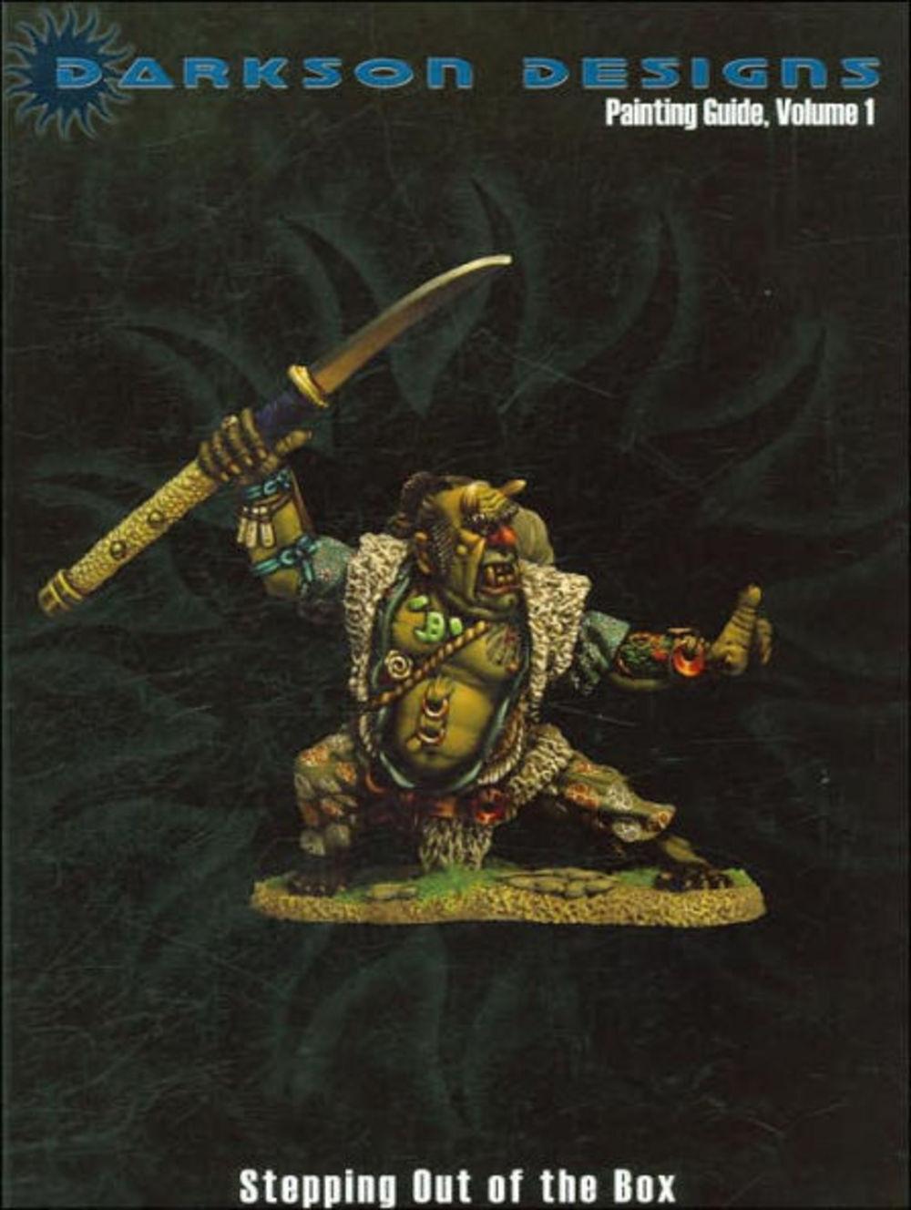 Darkson Design Dipingere Guida Volume  1 - Stampa Of The scatola (Rilegato in  100% autentico