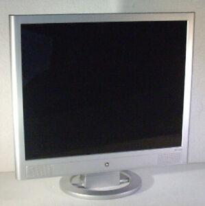 Hp-Pavilion-VS19B-48cm-19-Zoll-TFT-Monitor-Bildschirm-P8726A3-Speaker-silber