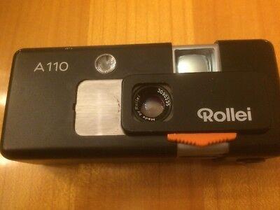 Rollei A 110 Kompaktkamera Tessar 1:2,8 F=23mmm Komplette Artikelauswahl Miniaturkameras