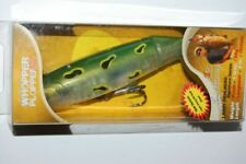 """Heddon Lucky 13 X2500GRA 4/"""" Fire Tiger MADE IN USA"""