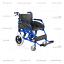 miniatura 2 - Sedia a Rotelle pieghevole da transito in alluminio con freno carrozzina AGILA
