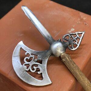 lancia-orientale-metallo-legno-corteo-Presepe-Napoletano-45Cm-Presepe-Napoletano