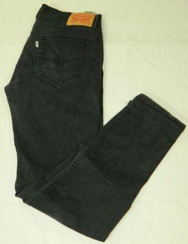 Levis 512 black jeans 33x34 slim fit white tag (Me