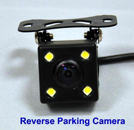 Visión nocturna visión Color Mini Cámara De Reversa Para Invertir parking Luces Led