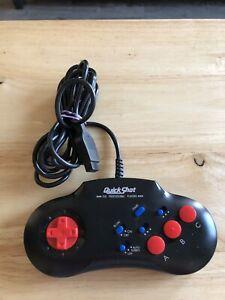 Quick-Shot-Invader-3-16bit-Deluxe-Control-Pad-QS-183-Sega-Genesis-Megadrive