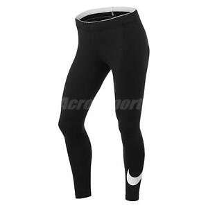 Nike Women's Pro Tights Black White | Rogue Fitness