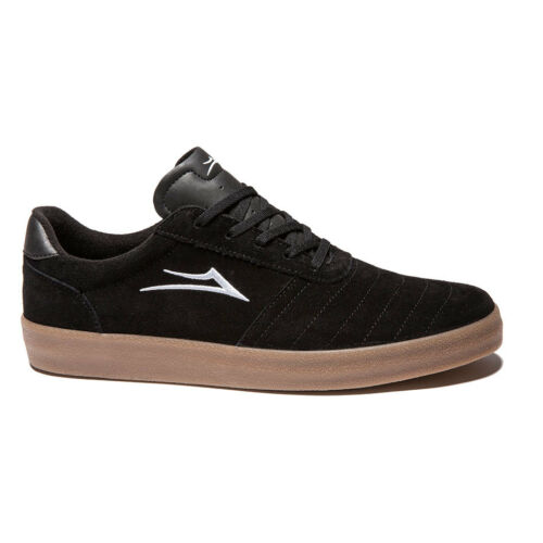 Lakai Salford Black Gum Hommes Skateboard Baskets Chaussures Baskets