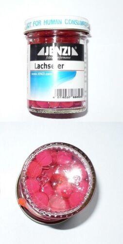 Jenzi Lachseier Hellrot oder gemischte Farben Forellenköder