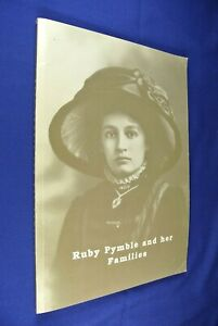 RUBY-PYMBLE-AND-HER-FAMILIES-Gwen-James-SIGNED-BOOK-Sydney-Local-History