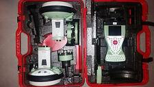 LEICA VIVA GS15 GPS BASE & ROVER + CS15 & PAC CREST 35W RADIO W/ GLONASS SURVEY