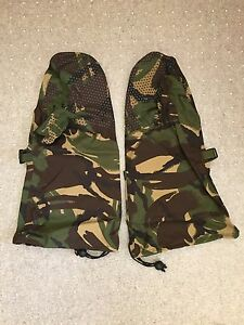 NEW-British-Army-DPM-Gore-Tex-ECW-Outer-Mittens-Large