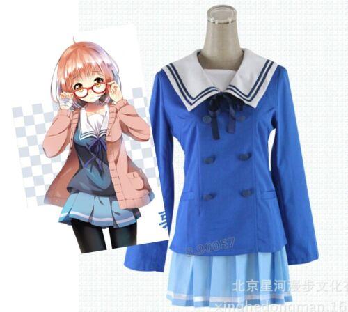 Hot Kyokai no Kanata Kuriyama Mirai au-delà de la frontière cosplay costumes robe