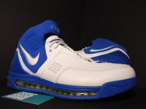 new arrival f7777 62ecf Image is loading 2006-NIKE-AIR-MAX-ELITE-TB-WHITE-VARSITY-