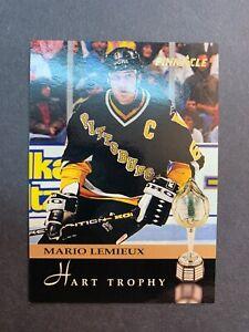 1993-94-Pinnacle-Hart-Trophy-221-Mario-Lemieux-Pittsburgh-Penguins-Captain