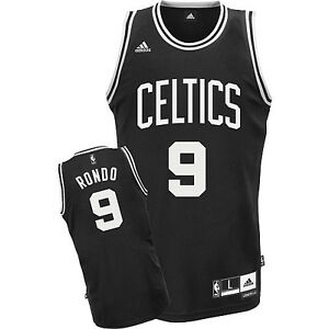 promo code e52cd ad873 Details about NBA Rajon Rondo Boston Celtics Basketball Swingman Jersey  Shirt