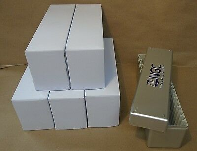 4 NGC Coin Storage Boxes Lot of