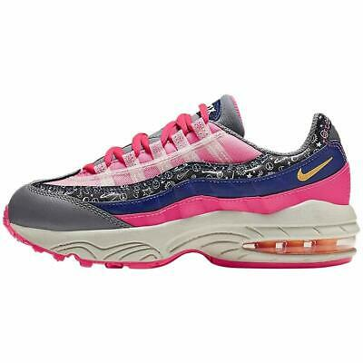NEW Girls Nike Air Max 95 Sneakers Shoes Size Pink Purple CI9938 500 Athletic | eBay