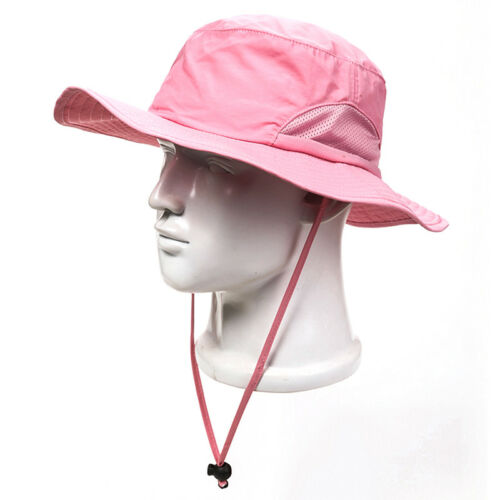 Bucket Hat Boonie Hunting Outdoor Wide Brim Camo Sun Men Hats Military Fishing